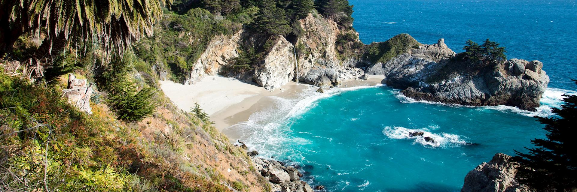 Big Sur on the Pacific Coast Highway, the USA