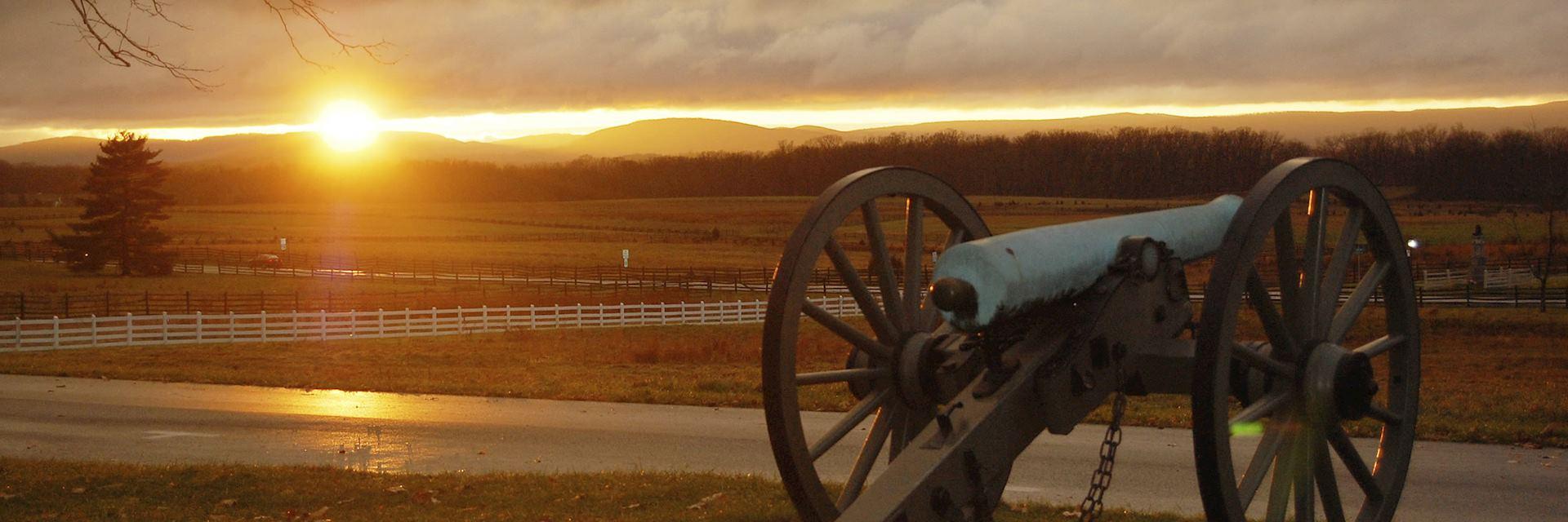 The battlefield of Gettysburg