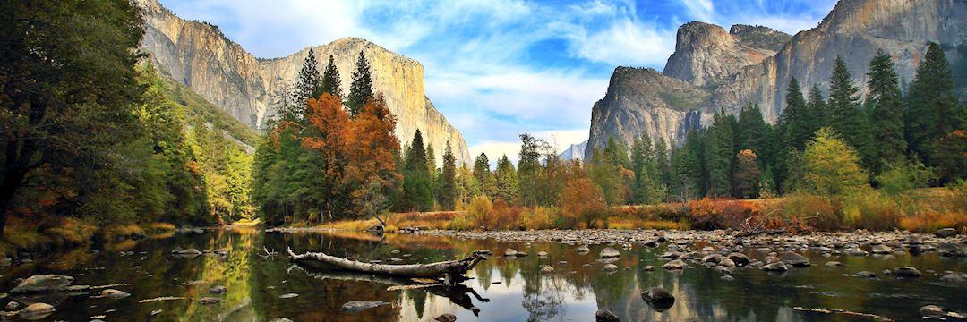 El Capitan and the Merced River in Yosemite National Park