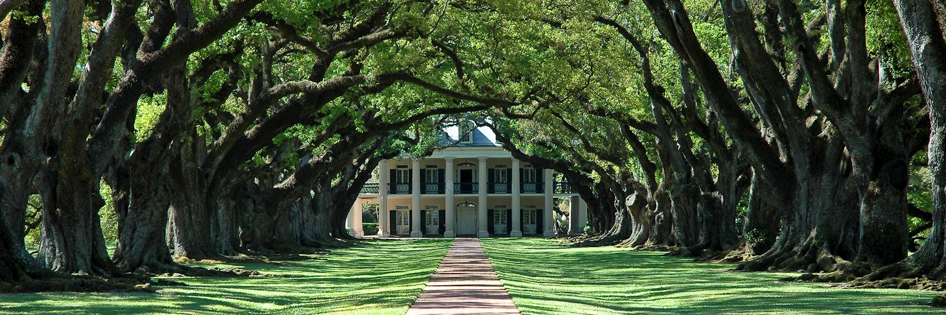 Louisiana plantation house