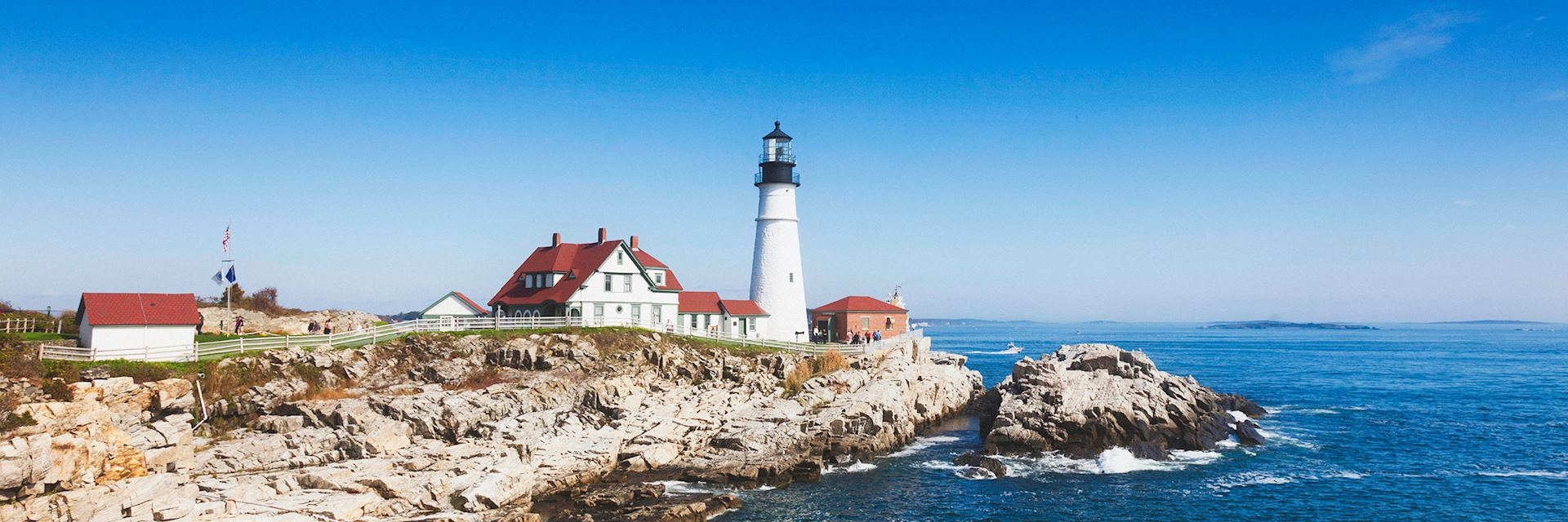 Portland lighthouse, New England