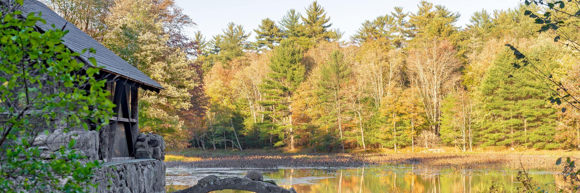 Lake in North Woodstock