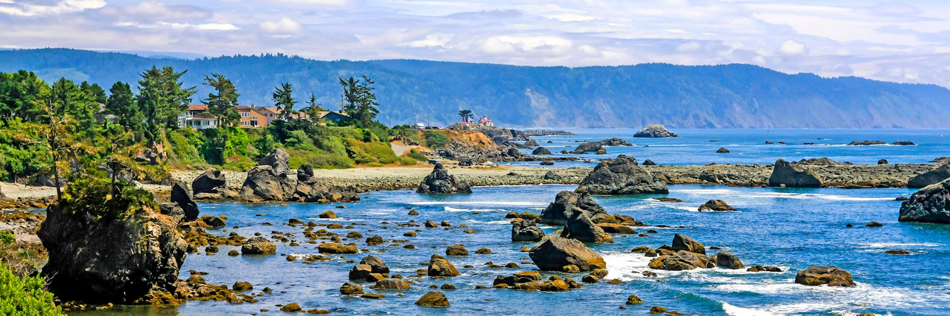 Pacific coastline at Crescent City