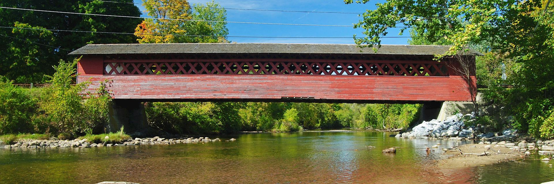 Covered bridge, Bennington