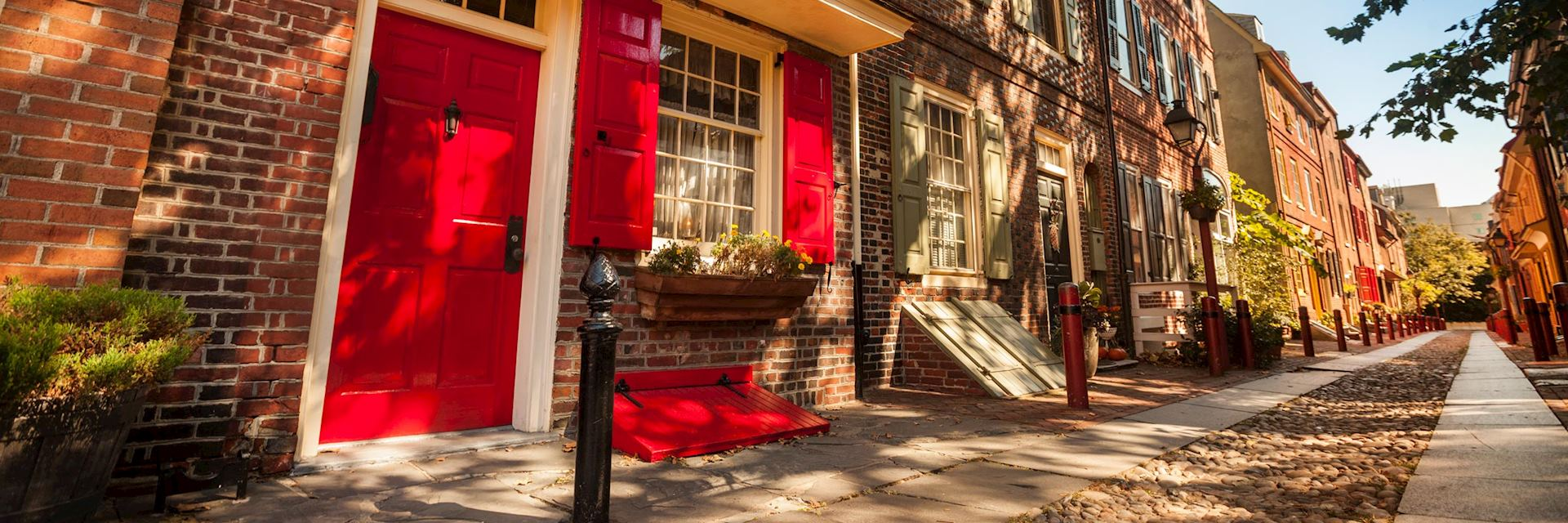 Historic houses in Philadelphia
