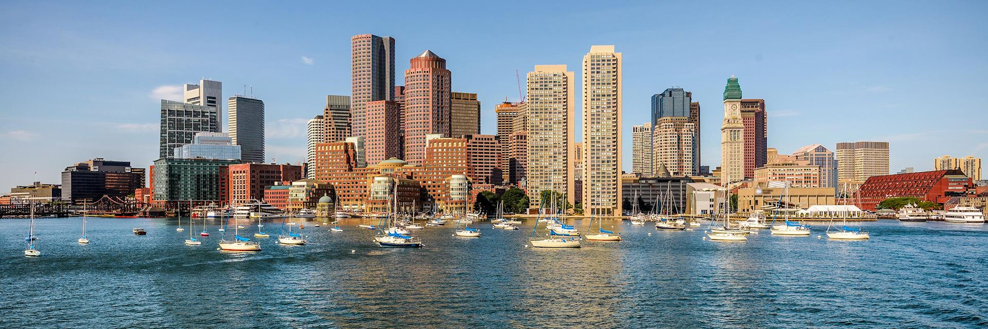 Boston waterfront, USA