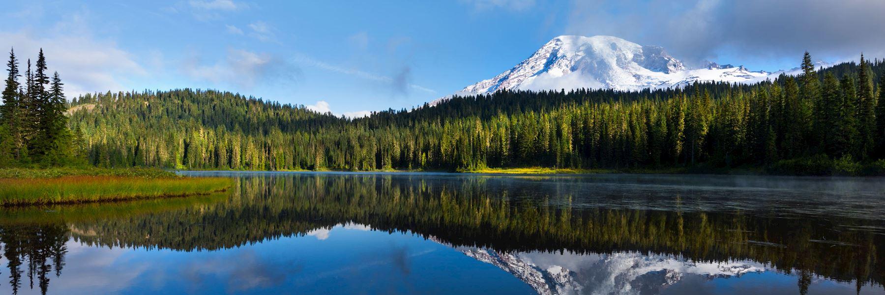 Visit Mount Rainier National Park, USA