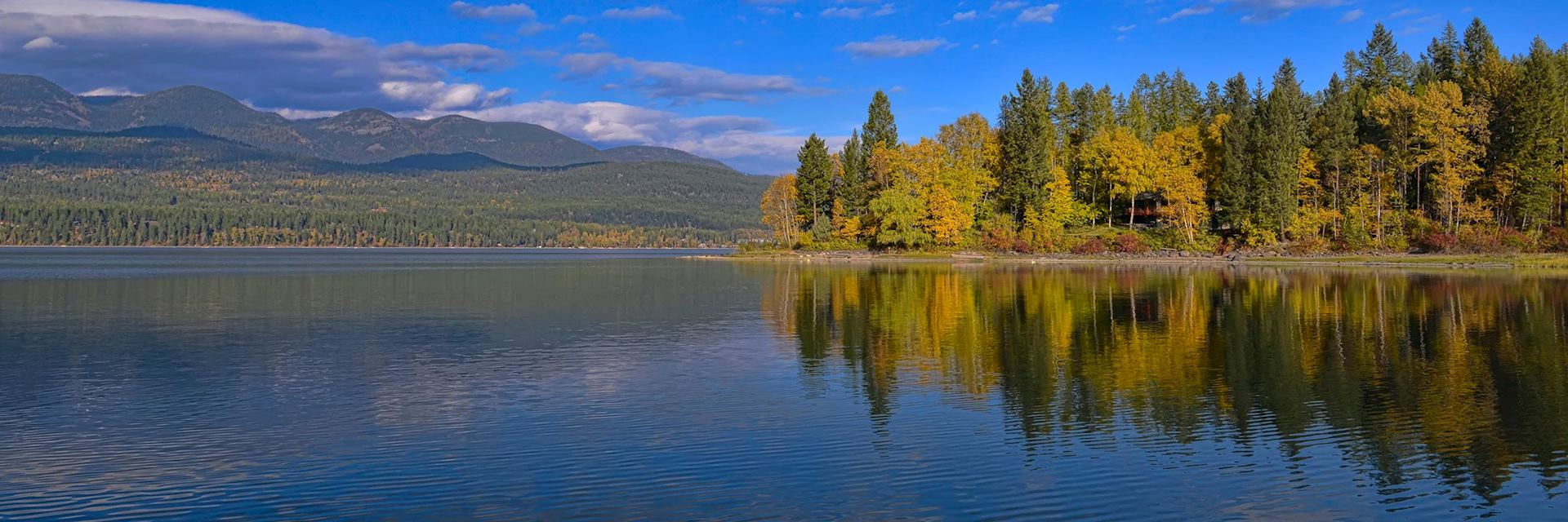 Whitefish Lake, Montana, USA