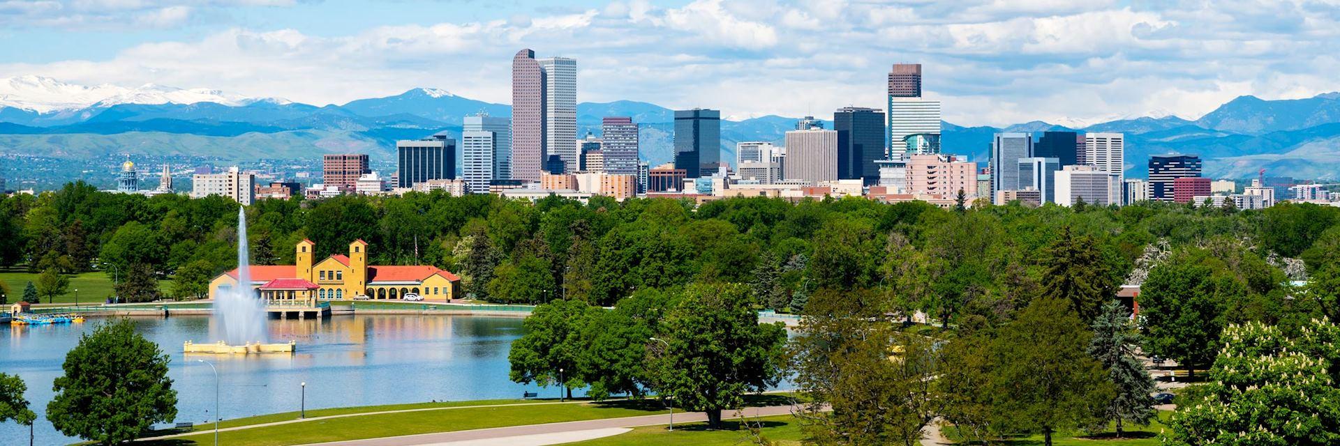 Downtown Denver, the USA