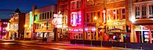 Broadway district, Nashville, USA