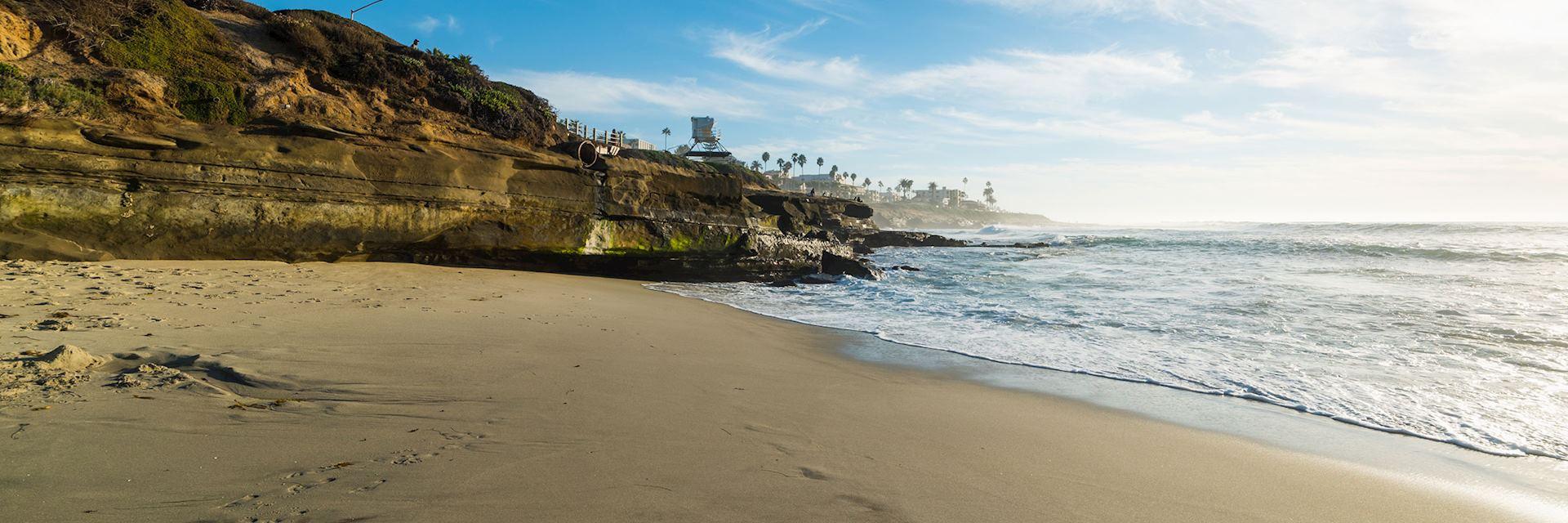 La Jolla beach, San Diego, USA