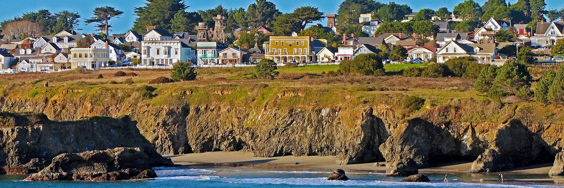 Mendocino in California, the USA