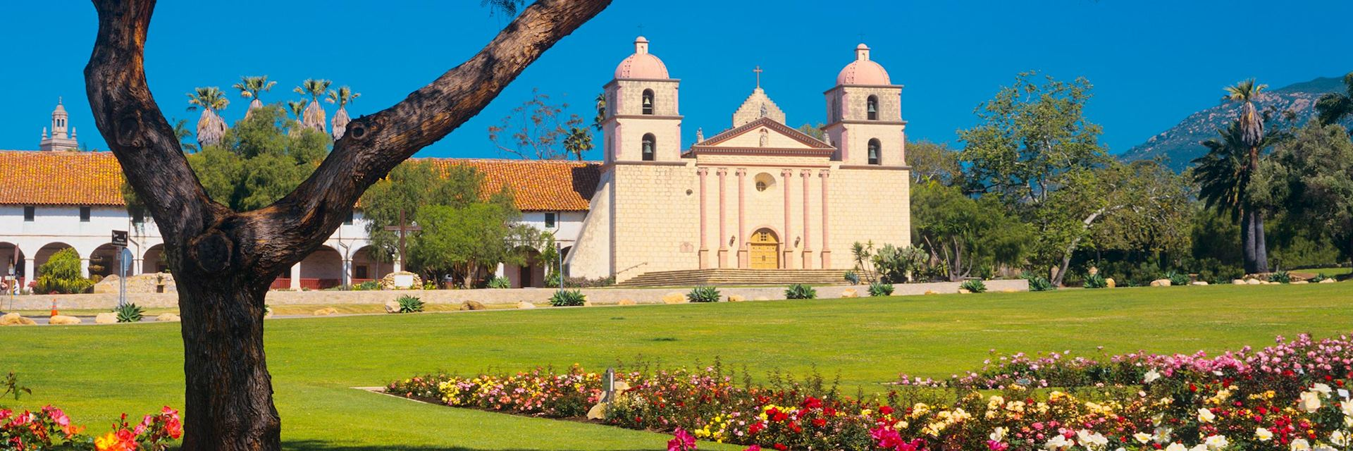 Santa Barbara Mission, California, USA