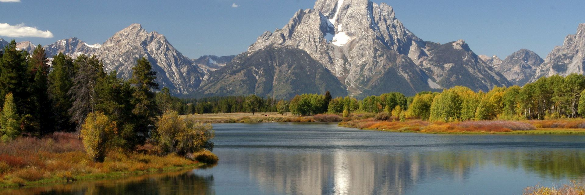 Oxbow Bend, Grand Teton National Park, the USA