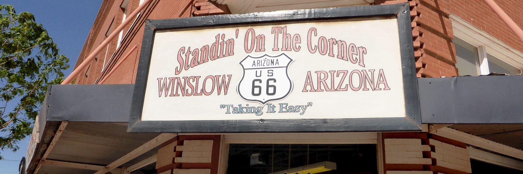 Visit Winslow, USA