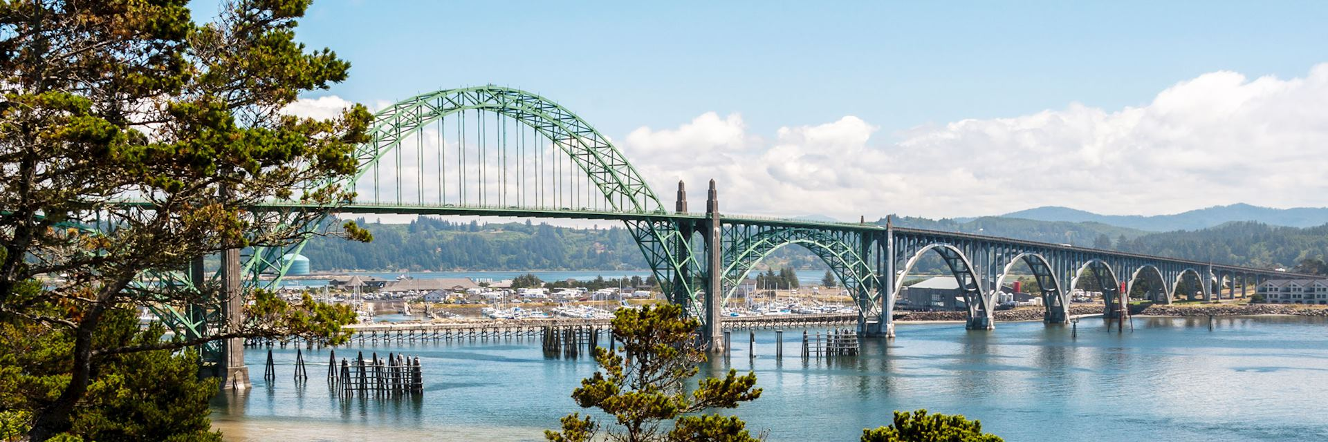 Yaquina Bay Bridge, Newport, Oregon