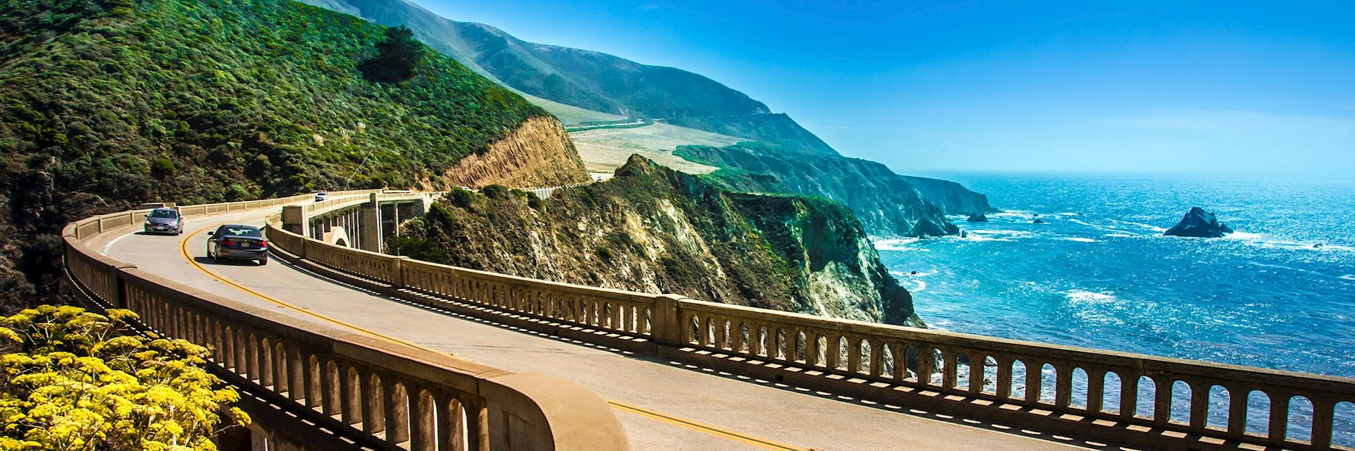Bixby Creek Bridge om California's Pacific Coast Highway