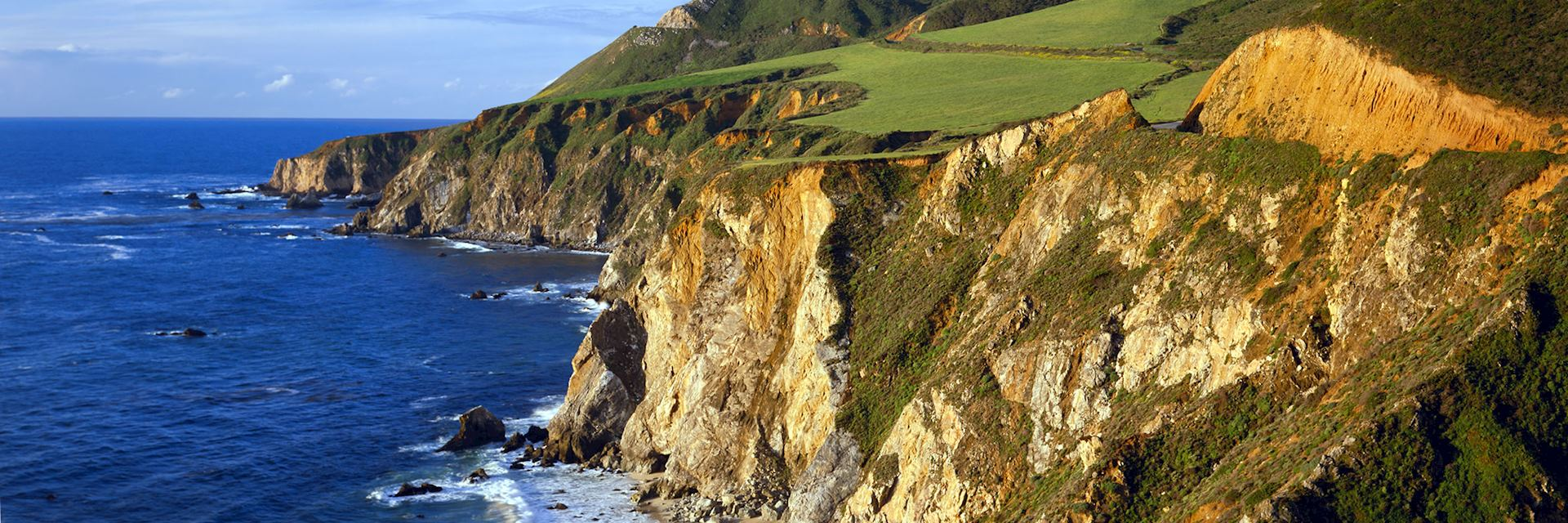 Enjoy dramatic coastal views at Big Sur