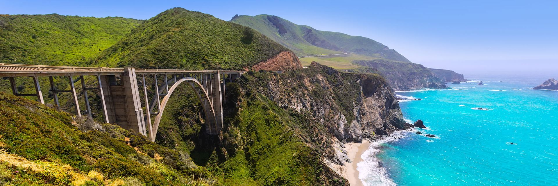 Bixby Bridge in Big Sur, Monterey, California