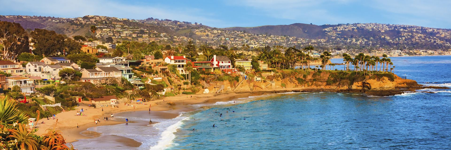 Laguna Beach coastline, California