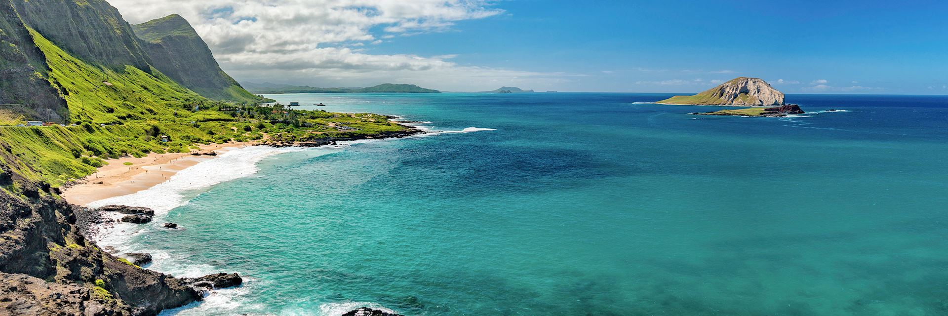Lanai coastline, Hawaii
