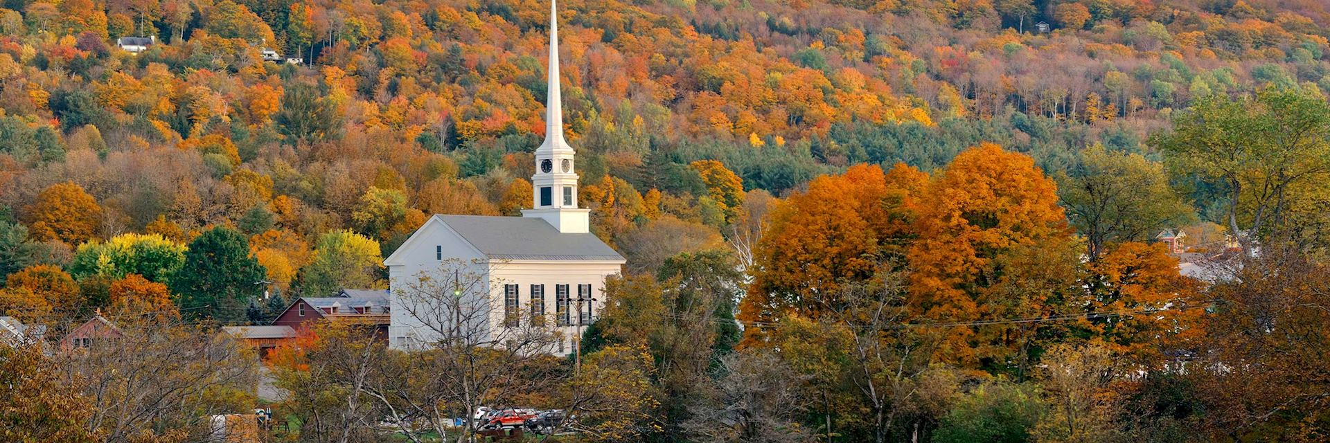 Autumn in Vermont, New England
