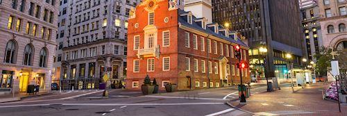 Boston, New England