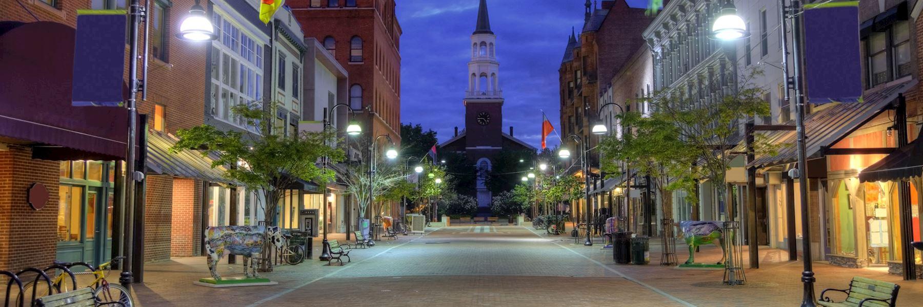 Visit Burlington, New England