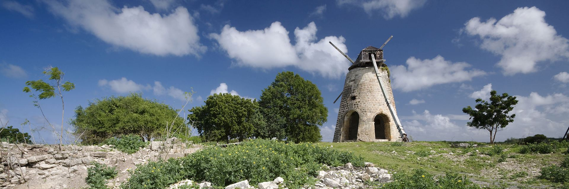 Windmill on Antigua