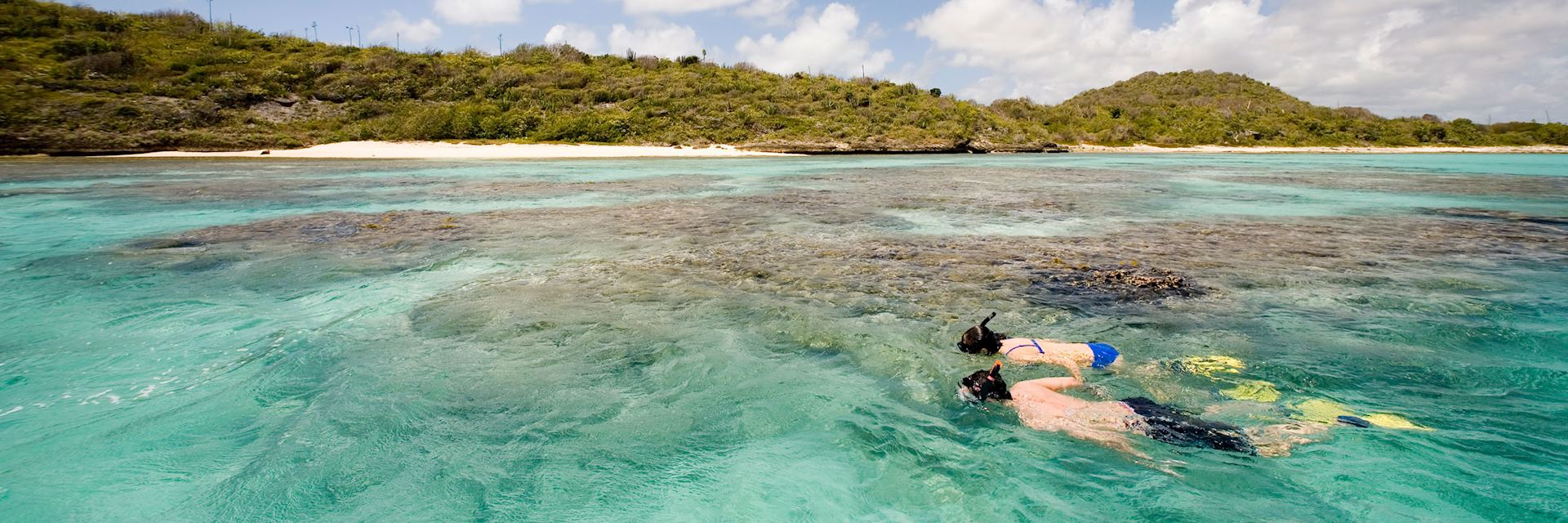 Snorkelling, Green Island, Antigua