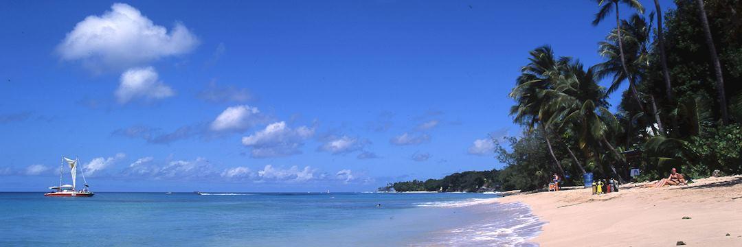 West coast beach, Barbados