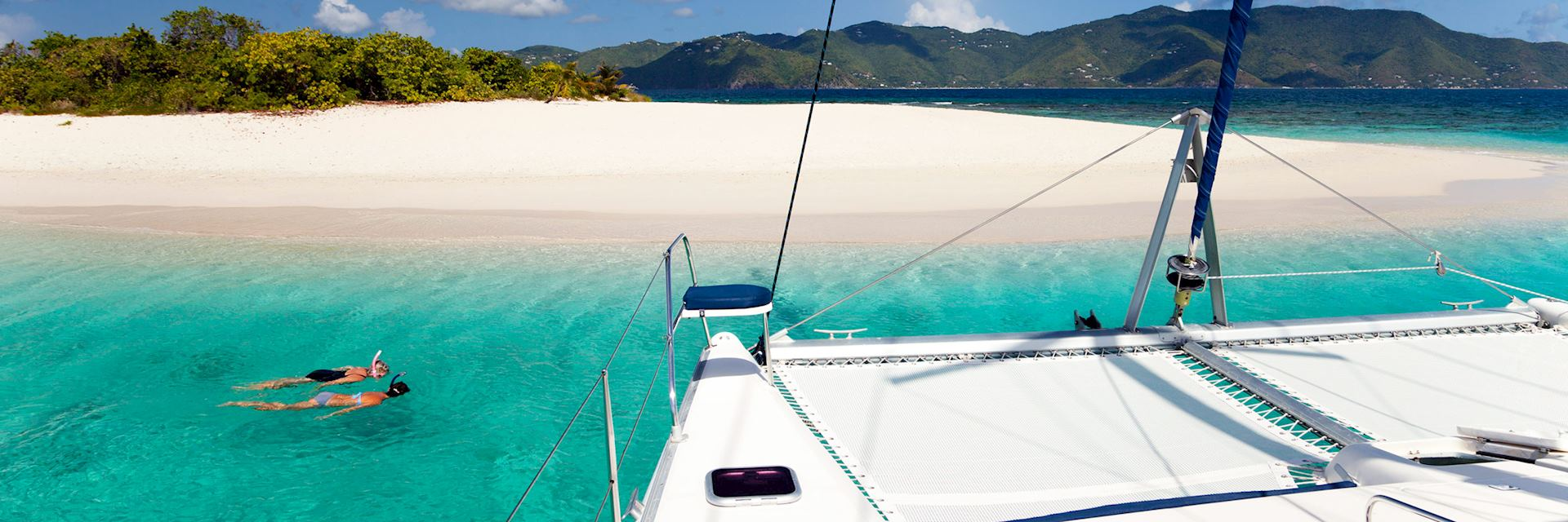 Explore the British Virgin Islands on a privately crewed yacht