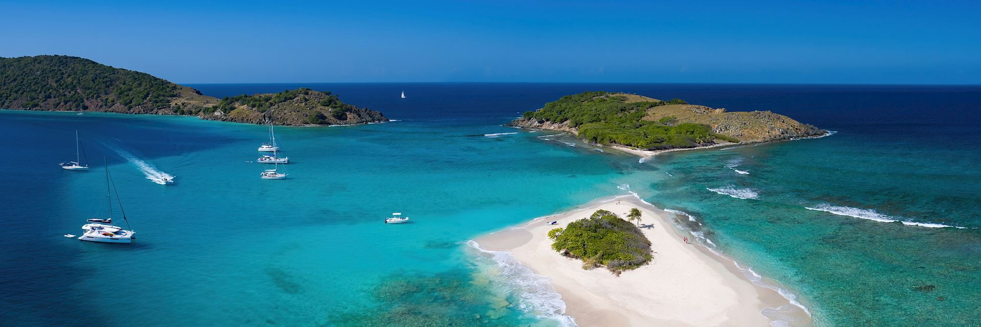 Sandy Spit Island in the British Virgin Islands