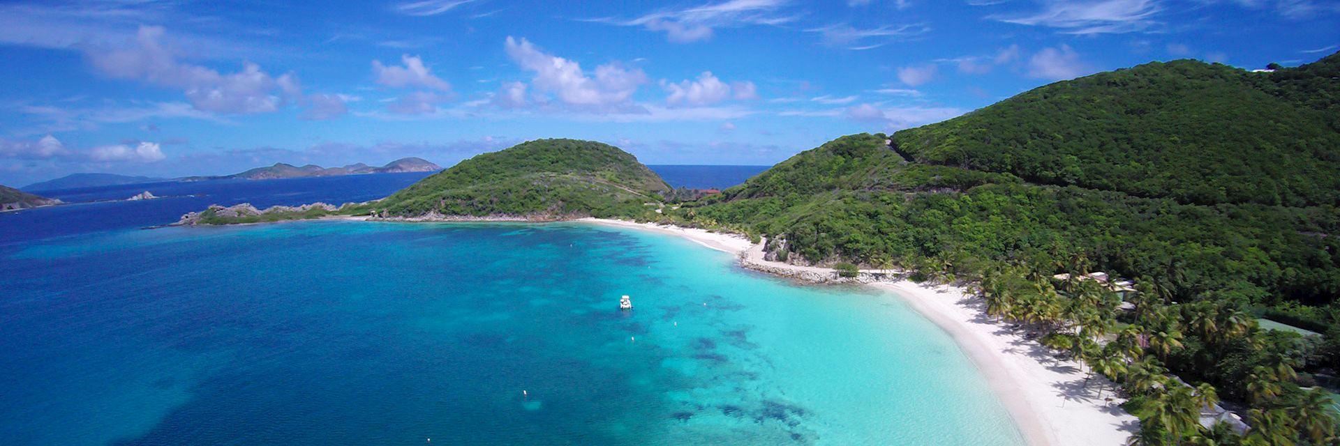Dead Man's Bay, Peter Island in the British Virgin Islands