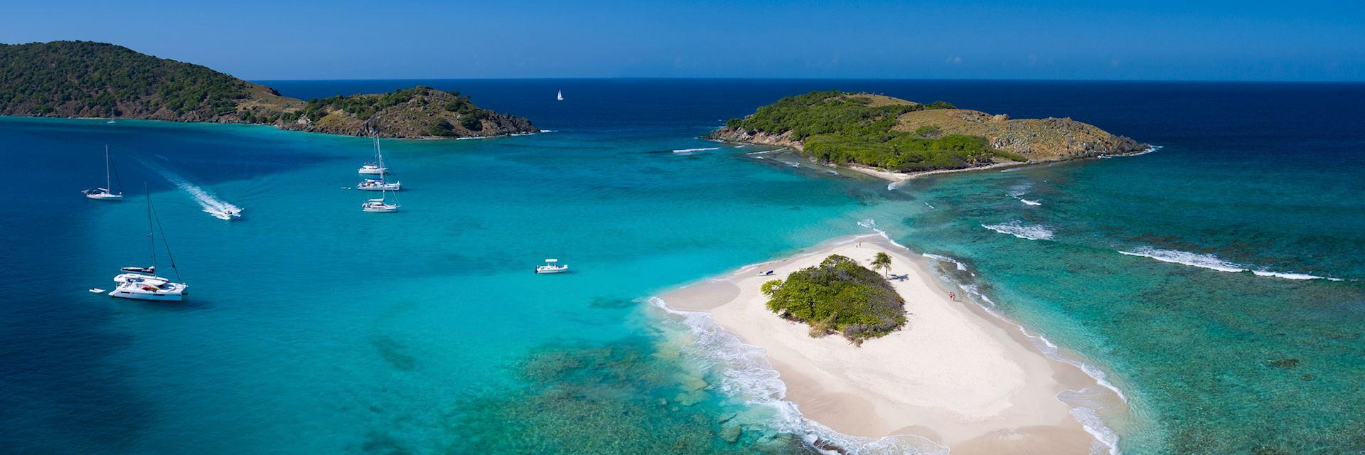 Sandy Spit Island in the British Virgin Islands