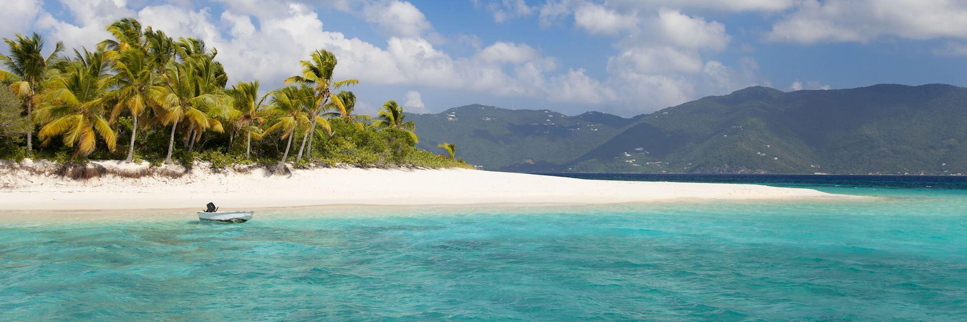 Beach on Tortola
