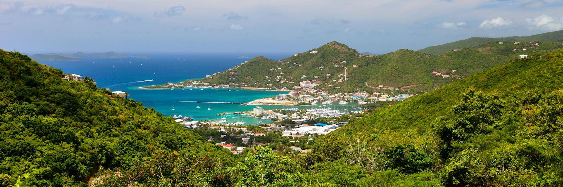 Tortola coastline, British Virgin Islands
