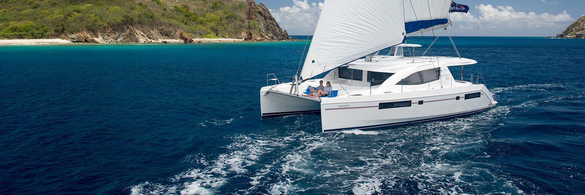 The Moorings 4800 Sail Catamaran, British Virgin Islands