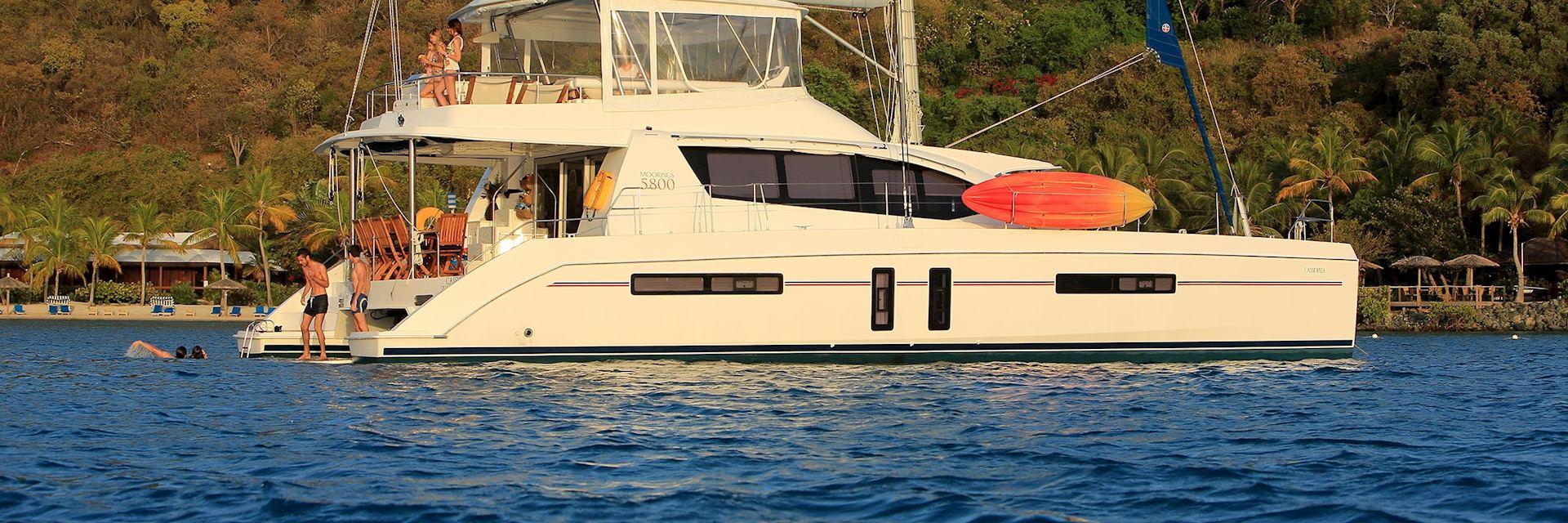 The Moorings 5800 Sail Catamaran, British Virgin Islands