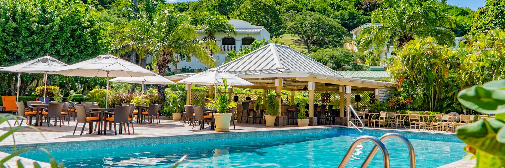 Blue Horizons Garden Resort pool, Grenada