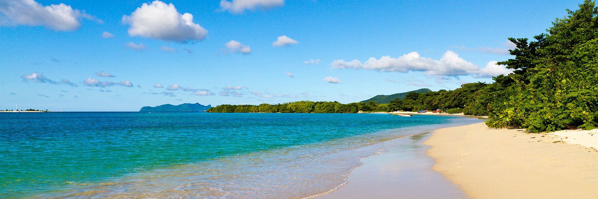 Caribbean beach, Grenada