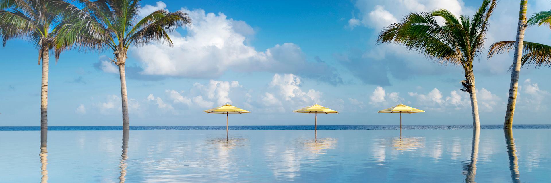 Infinity pool, Half Moon, Jamaica