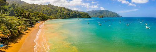 Jamaica coastline