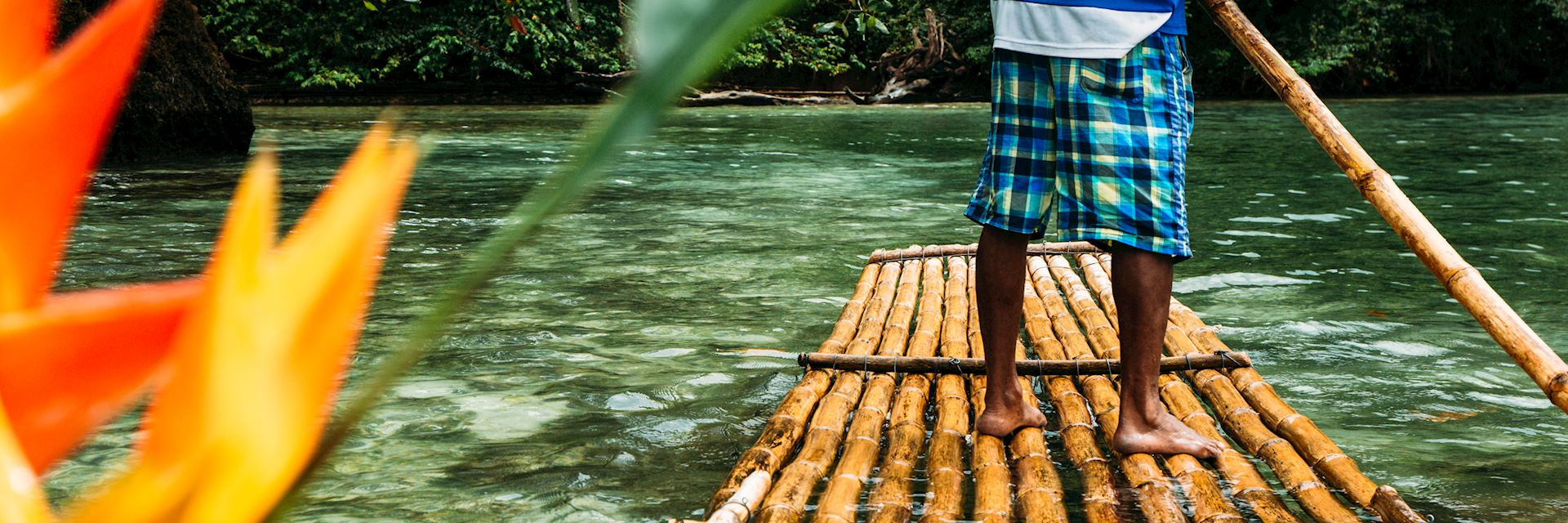 River rafting, Jamaica