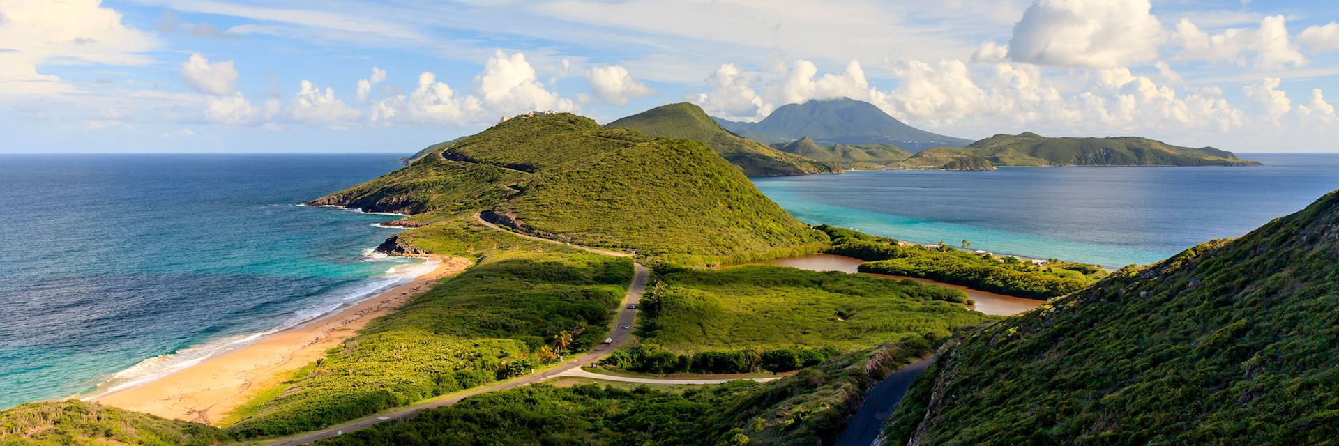 Saint Kitts southeast peninsula