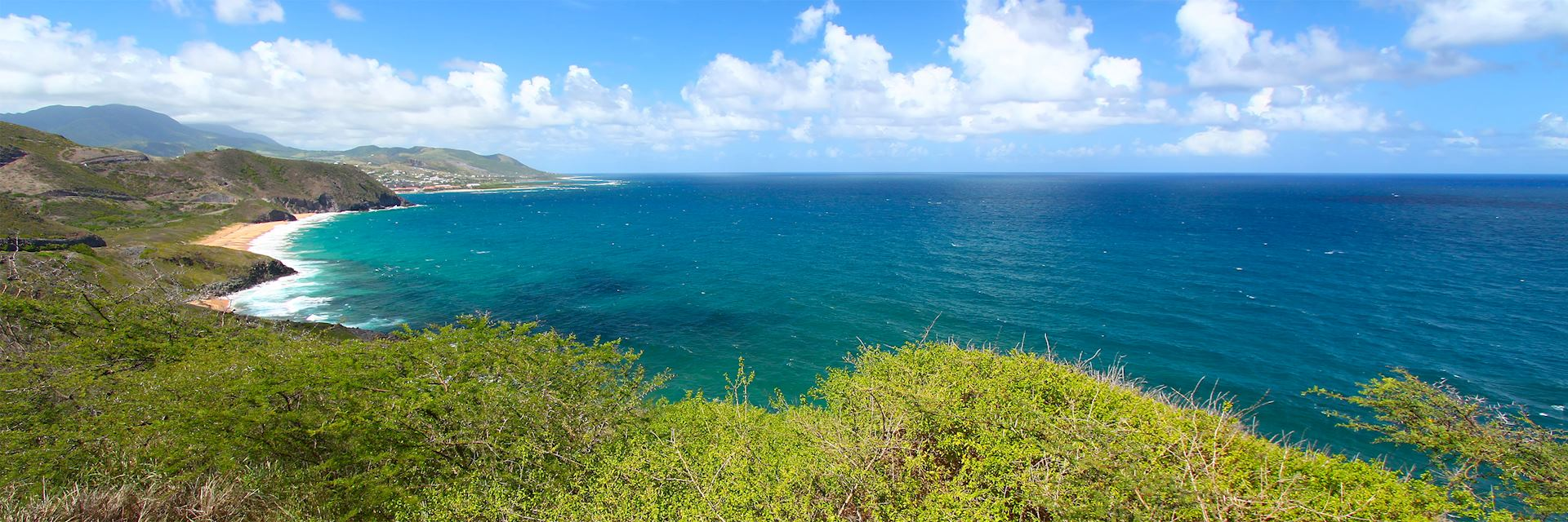 Saint Kitts coastline, Saint Kitts and Nevis