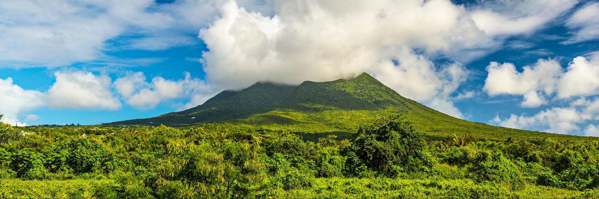 Nevis Peak, Saint Kitts and Nevis