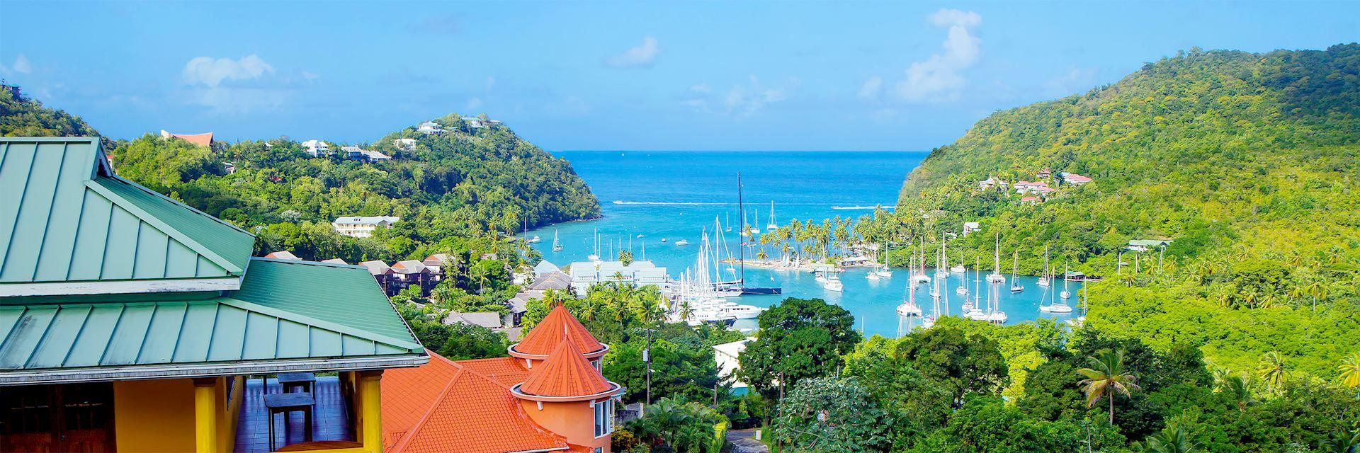 St Lucia skyline