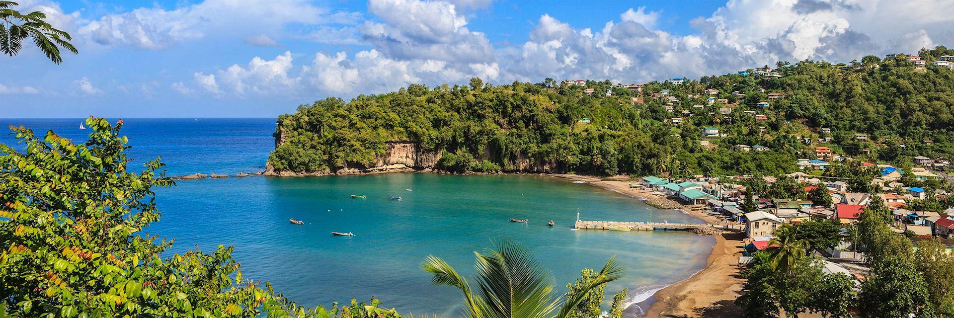 Beach at Anse La Raye