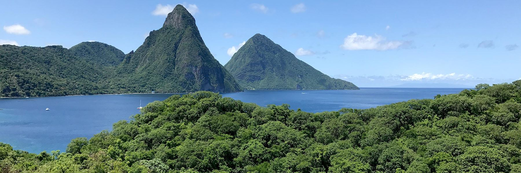 Yacht charters in Saint Lucia